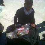 Bringing plastic bottles in a suitcase