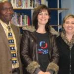 Mr Kutu, Maria and Pauline de klerk