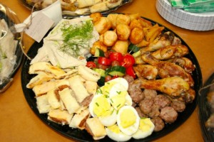 De Fayebosch platters, yummy lunch!