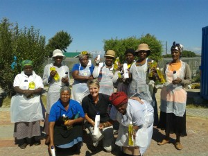 Columbus Chemicals - volunteers Khayelitsha